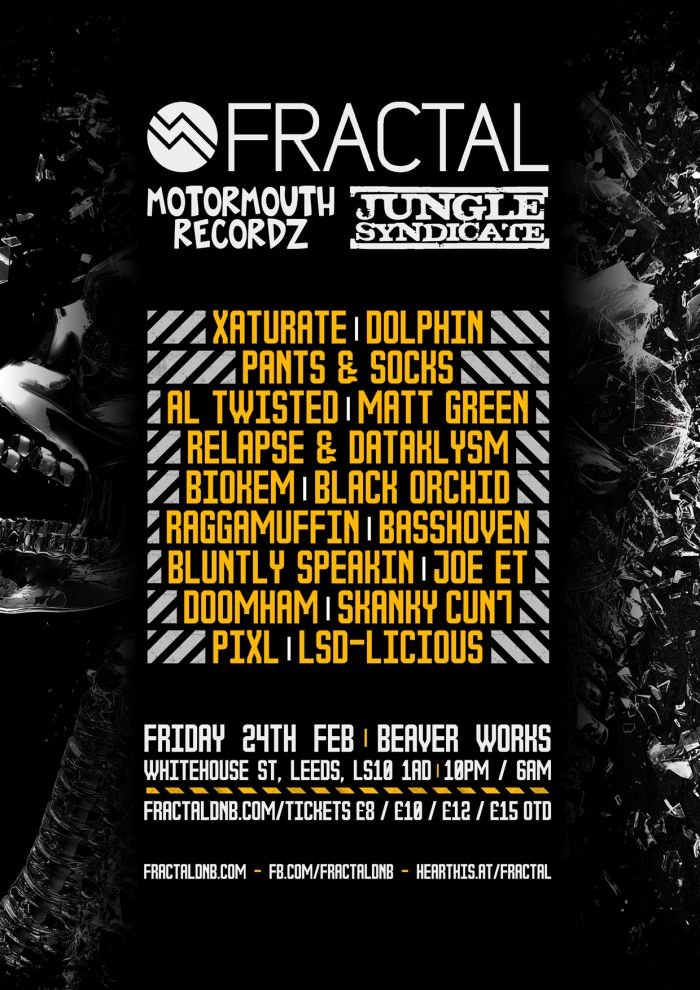 Fractal:14 - Motormouth Recordz & Jungle Syndicate
